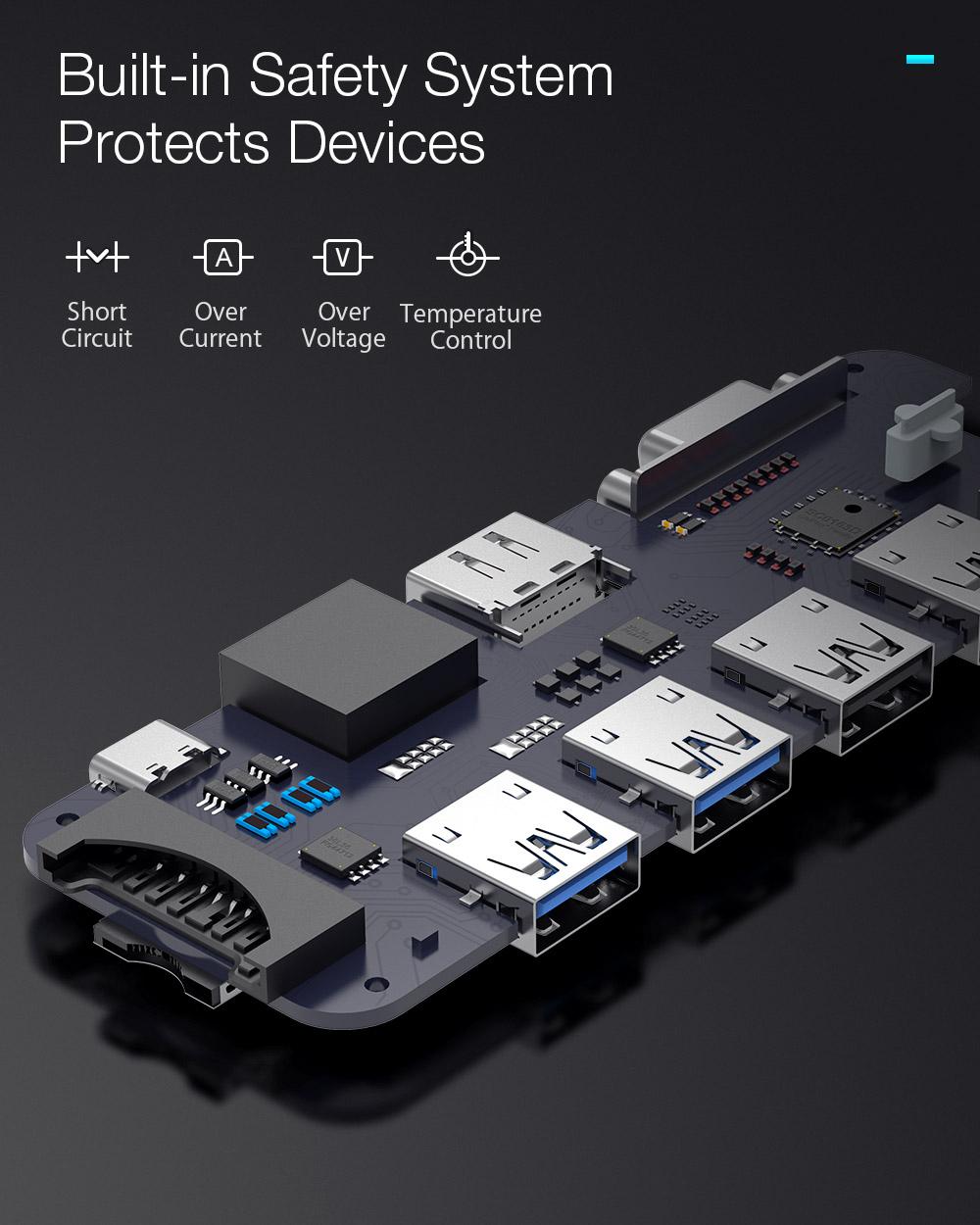 Blitzwolf BW-TH8 - USB Hub